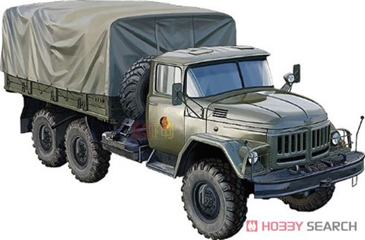 Military assembly model 1/35 Russian made Zil-131 early type pay winch transport truck CB35193 trumpeter 01025 1 35 russian frog 7 luna m short range rocket system model kits