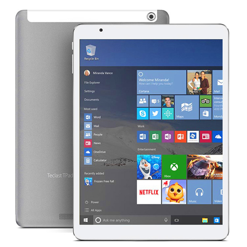 Teclast X98 Plus II windows 10 &Android 5.1 Tablet PC 9.7'' Intel Cherry Trail X5-Z8300 4GB/64GB IPS 2048*1536 tablet android