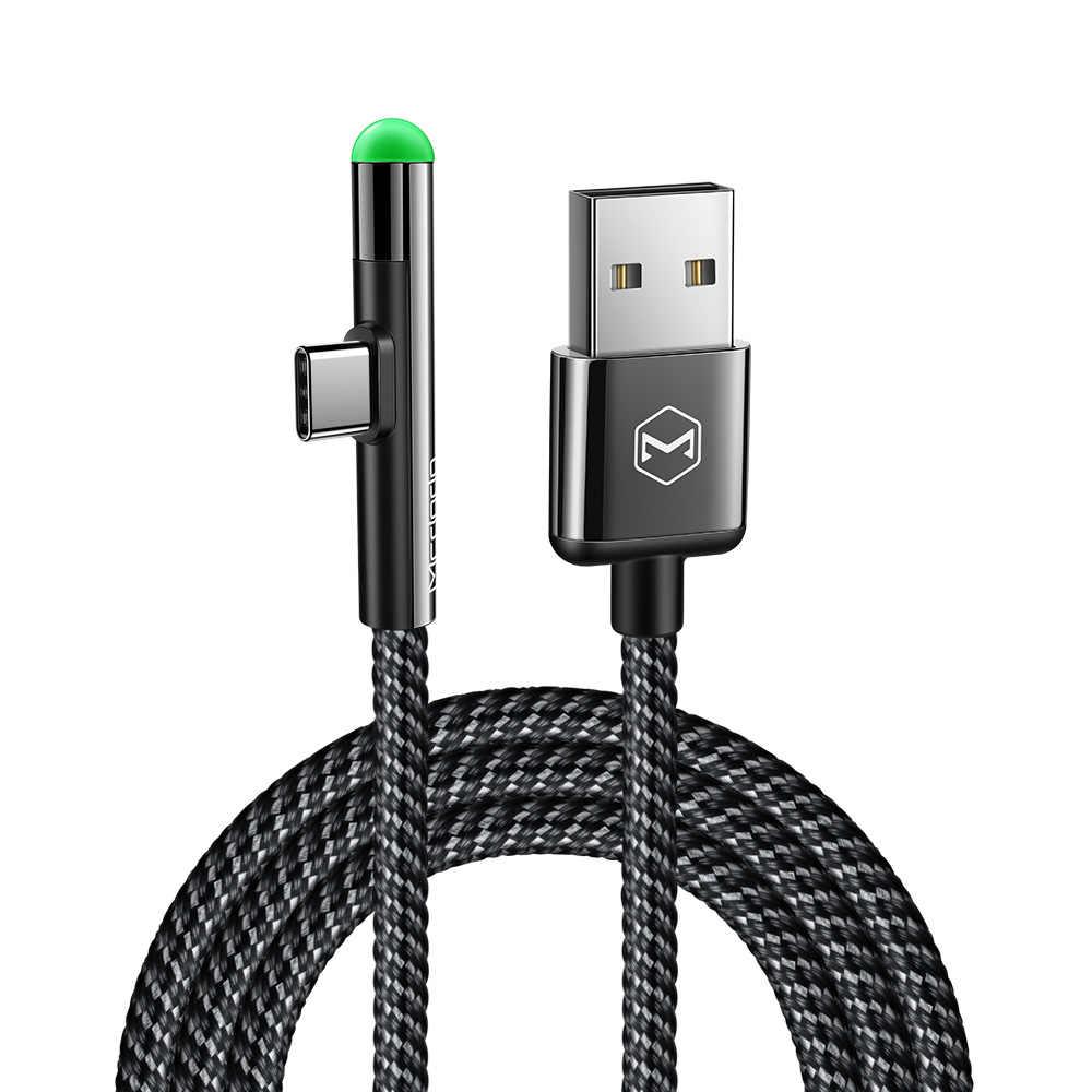 MCDODO LED سريع USB C نوع C كابل شاحن يو اس بي نوع-C كابل يو إس بي-C كابل شحن لهواتف سامسونج S10 S9 شياو mi 9 هواوي ماتي 20 برو P20