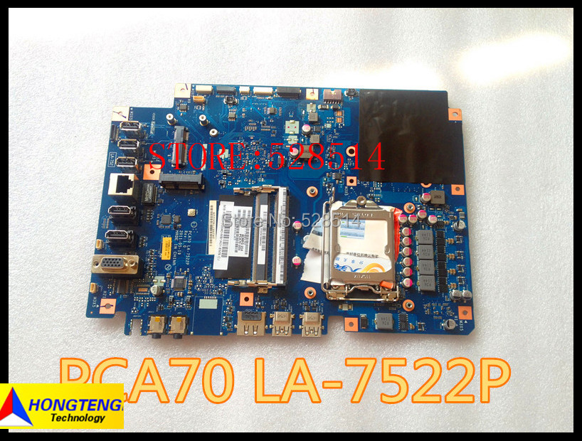 ФОТО Wholesale system board for ASUS ET2410I MOTHERBOARD 60PT0040-MB2A01 PCA70 LA-7522P fully tested & working perfect