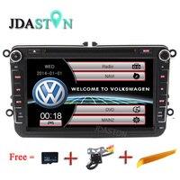 Dual Core 8 Car Dvd Autoaudio Multimedia For VW Passat B6 Polo VW Passat CC Golf