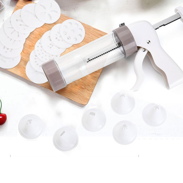 Kitchen Biscuits Cake Mold Cookie Press Maker