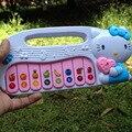 Olá Kitty luz instrumentos de teclado musical brinquedos meninos e meninas brinquedos presentes
