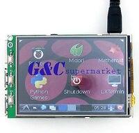 3 2 LCD Touch Screen Display Monitor Soft Keyboard For Raspberry Pi B B