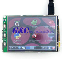 3 2 LCD Touch Screen Display Monitor Soft Keyboard For Raspberry Pi B B