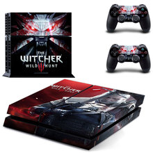 The Witcher 3 Wild Hunt Meat of Gear PS4 Skin Sticker Decal Vinyl for Playstation 4 Console and 2 Controllers PS4 Skin Sticker