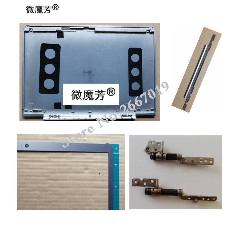 Nouveau pour Samsung NP530U3C 530U3C 530U3B 532U3C 535U3C LCD COUVERTURE ARRIÈRE/LCD Lunette Couverture/Charnières LCD/LCD charnières Couverture
