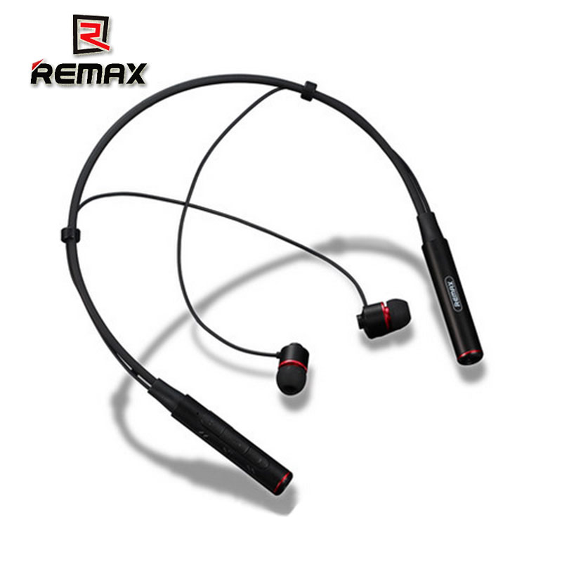 REMAX RB-S6 Neckband Bluetooth Earphone Wireless Stereo Hanging In-ear Headphone for Xiaomi iphone Samsung remax bluetooth v4 1 touch control wireless stereo earphone music headphone headset for iphone rb 300hb