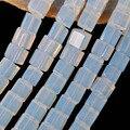 8 MM Cube Contas Loose Strand 16 Polegada Fazer Jóias de Opala B305