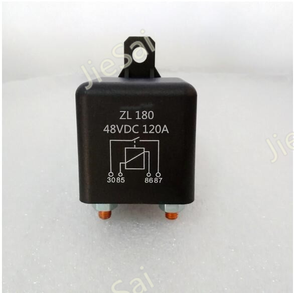 цена на high quanlity  high power Start relay and continuous relay Automotive relays 120A 48V DC contactor
