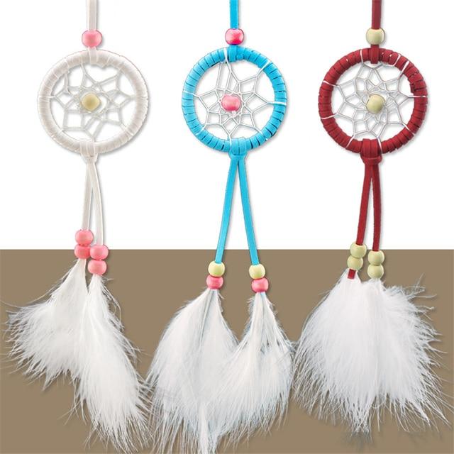Indian Mini Dream Catcher For Home Decor Feather Dreamcatcher Wind Awesome Mini Dream Catcher Bulk