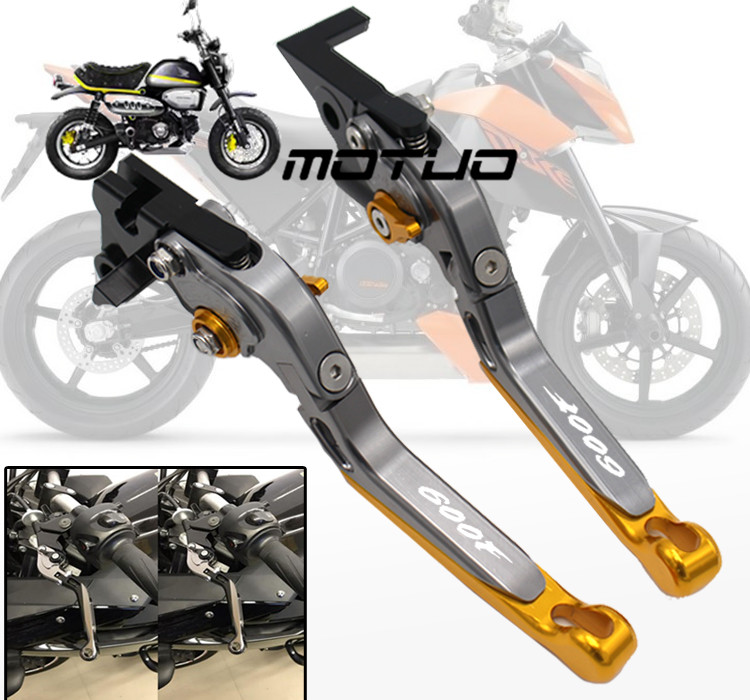 CBR600F Hornet 2007 2008 2009 2010 2011 2012 2013 Palancas de embrague de freno extensibles y plegables para Honda CB600F CNC