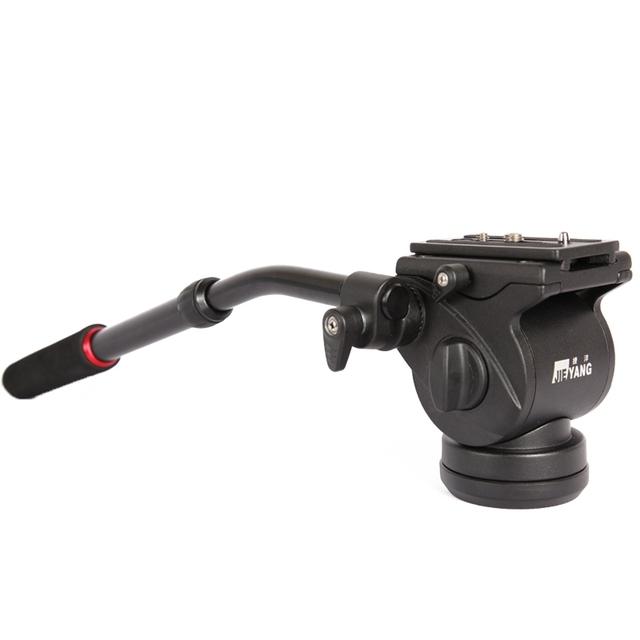 GOPRO Câmera de Vídeo JIEYANG Tripé Ação de Arrastar Fluid Cabeça Tiro Filmar JY0506 SLR atacado frete grátis