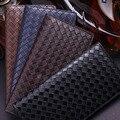 Nova Moda Dos Homens Bifold Carteira de Couro de Negócios Titular do Cartão de Dinheiro bolsa Bolso de Moedas Saco de Dinheiro para Os Homens de Alta Qualidade Curta saco