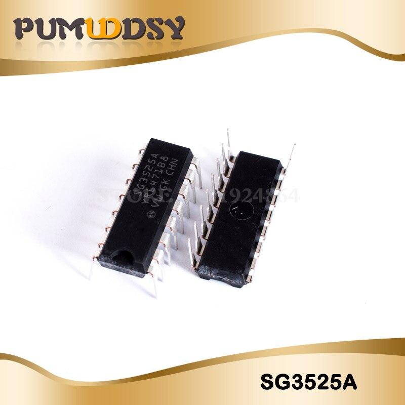 10PCS/Lot SG3525 SG3525A SG3525AN DIP-16 Regulators DC Switching Controllers IC10PCS/Lot SG3525 SG3525A SG3525AN DIP-16 Regulators DC Switching Controllers IC