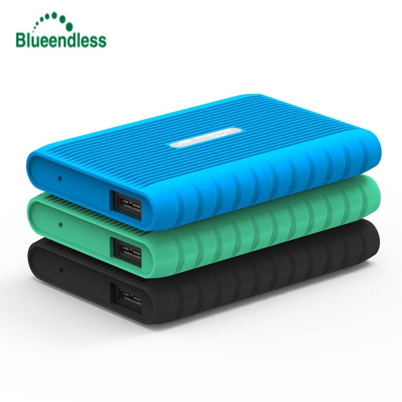 Blueendless HDD 2.5 Disque Dur Externe 250GB 320GB 500GB 1 to 2 to HD Externo Disco Duro Externo Disque Dur Externe Disque Dur Externe