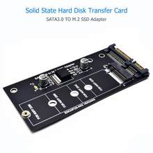 Sata 3.0 22 pinos sata para m.2 ssd adaptador m2 placa de expansão para b chave/(b + m) chave sata sinal m.2 ngff ssd 2242/2260/2280