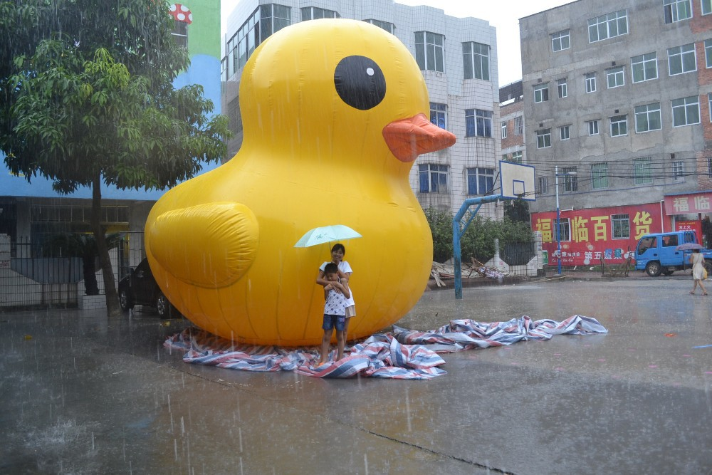 inflatable cute advertising duck цена