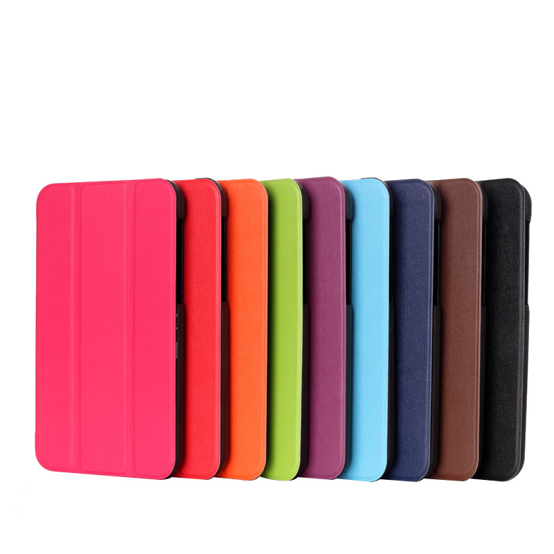 Classic Book Tablet Cover ~ Pu leather protective book cover for samsung galaxy tab s