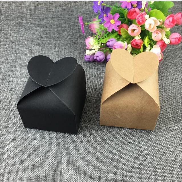 60pcs Kraft Gift boxes Paper Box Handmade Soap Craft Wedding Party Favor Macarons Packaging Brown Kraft Boxes