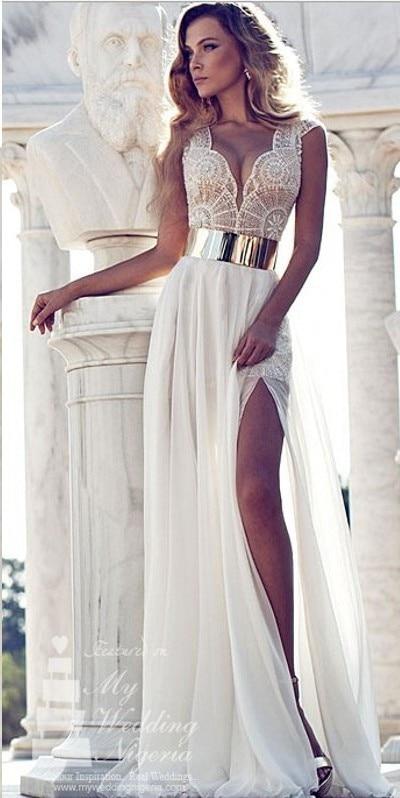Imagenes de vestidos de fiesta en blanco