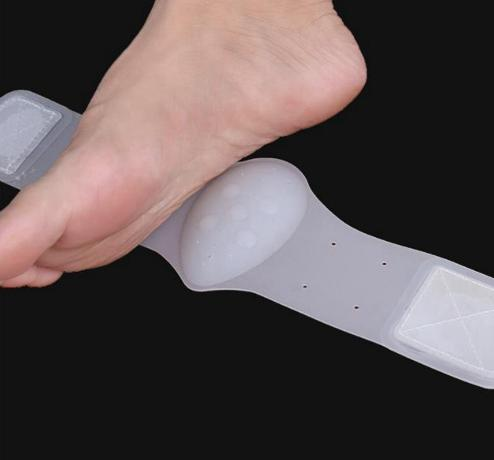 2PCS/Lot Silicone Flatfoot Corrector Bandage Gel Pro Arch Supports Flatfeet Orthotic Braces Pain Relief Massage Pad Cushion