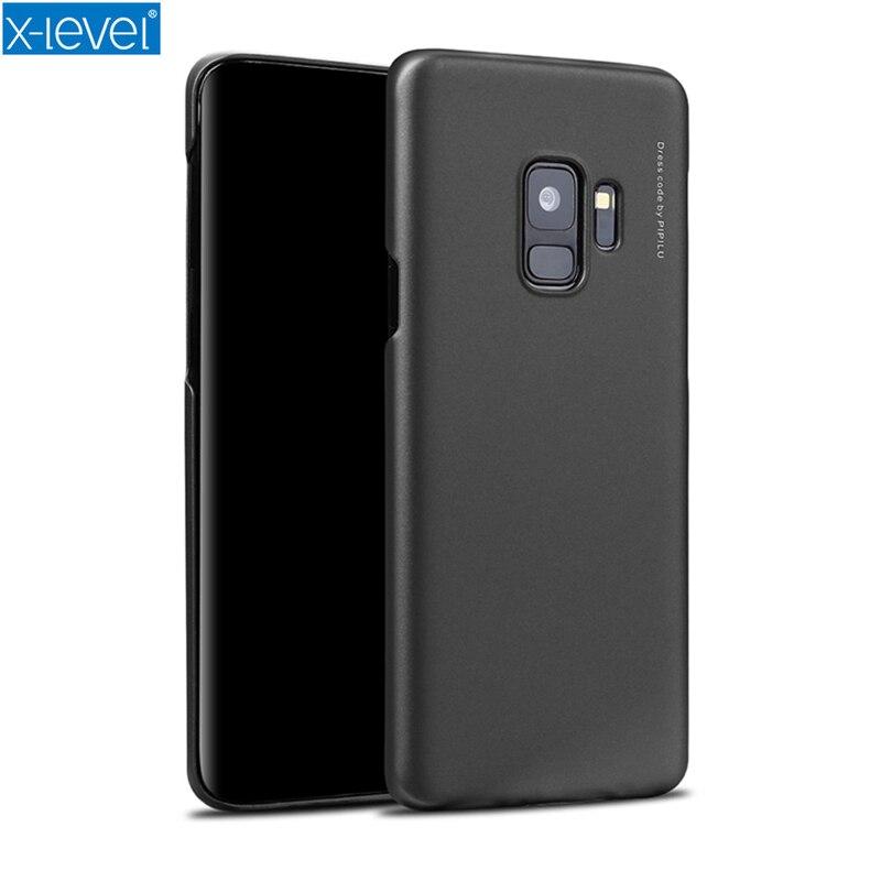 X-уровень PC чехол для Samsung S9/S9 Plus Чехлы Тонкий Вернуться защиты кожи ультра тонкий чехол телефона для Samsung Galaxy S8 S8 плюс
