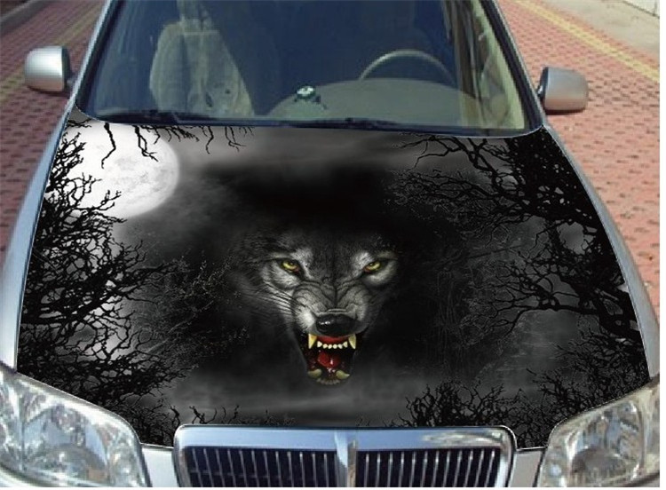 Wolf Automotive Car Cover