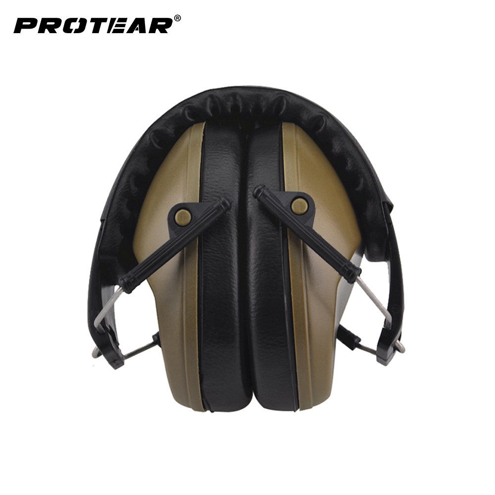 New Professional Soundproof Foldaway Durable Protective Ear Plugs For Noise  Ear Muffs Hearing Ear Protection