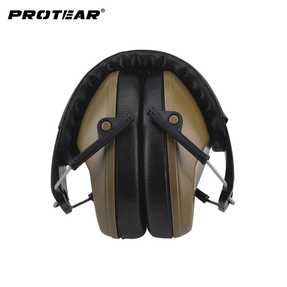 Nouveau Professionnel insonorisées escamotable durable de protection bouchons d'oreille pour le bruit oreille manchons protection auditive de l'oreille