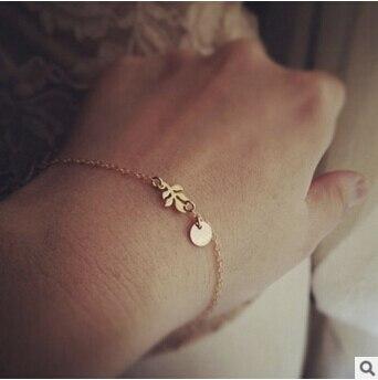 S 01 Magia cena! 2016 najnowszy wysokiej jakości stopu liści bransoletka biżuteria sztuczna hurtownie las modele na bazie