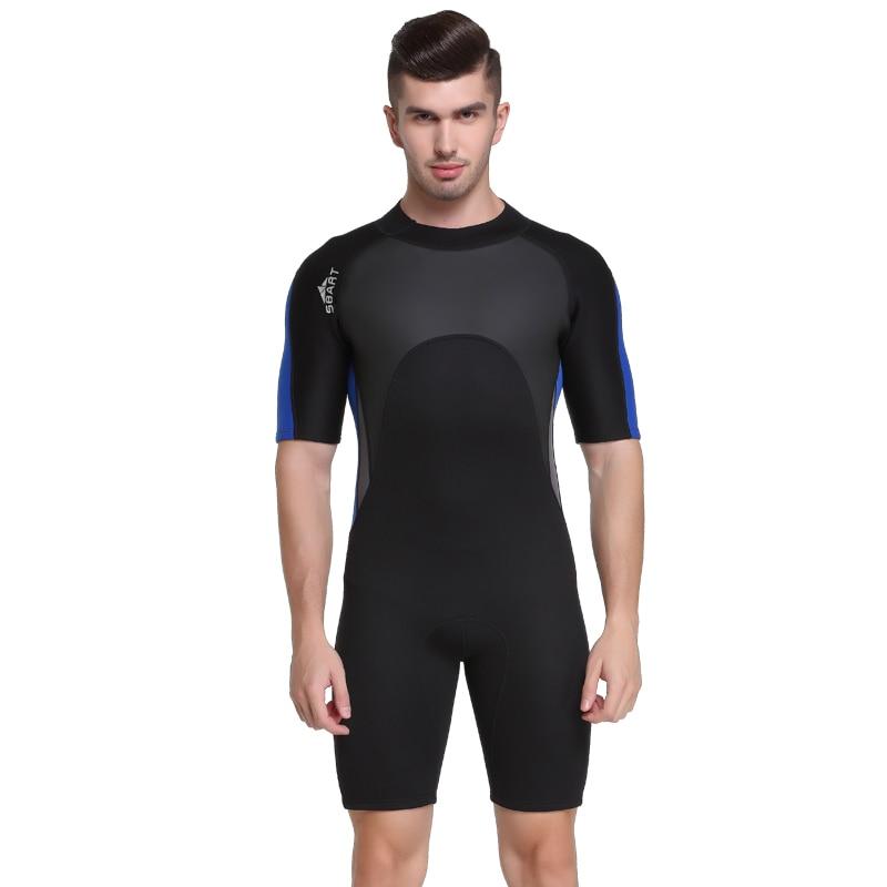 SBART 2mm Neoprene Surf Wetsuit Men For Swimming Scuba Diving Equipment One-Piece Spearfishing Sailing Wet Suits Men Mergulho N sbart upf50 806 xuancai