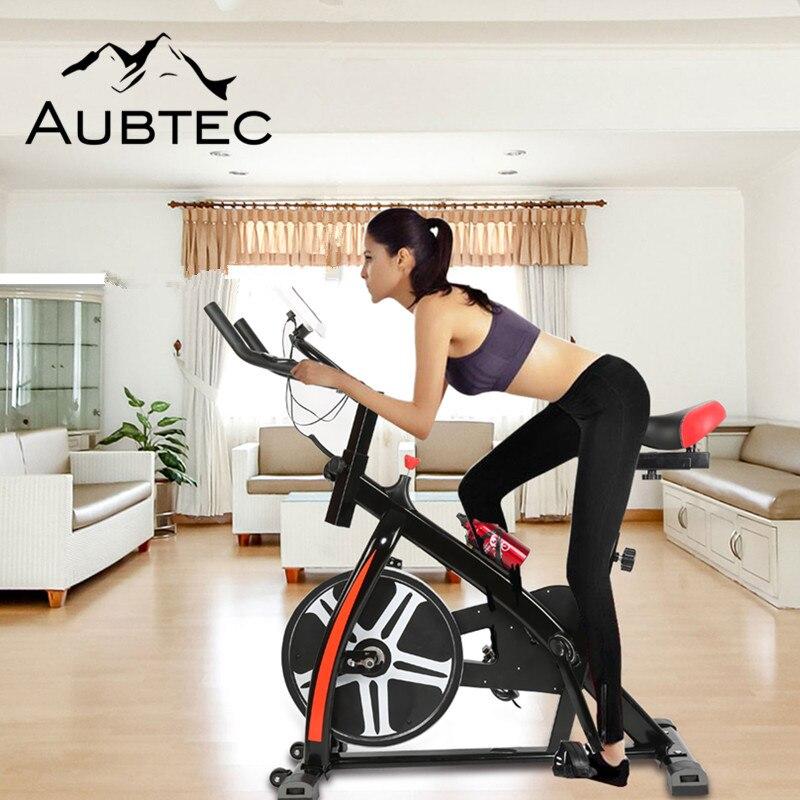 Nouveau Ménage Vélo Formation Exerciseur Vélo Muet Magnétique D'exercice Stationnaire Intérieur Fitness Vélo Équipement Vélo HWC