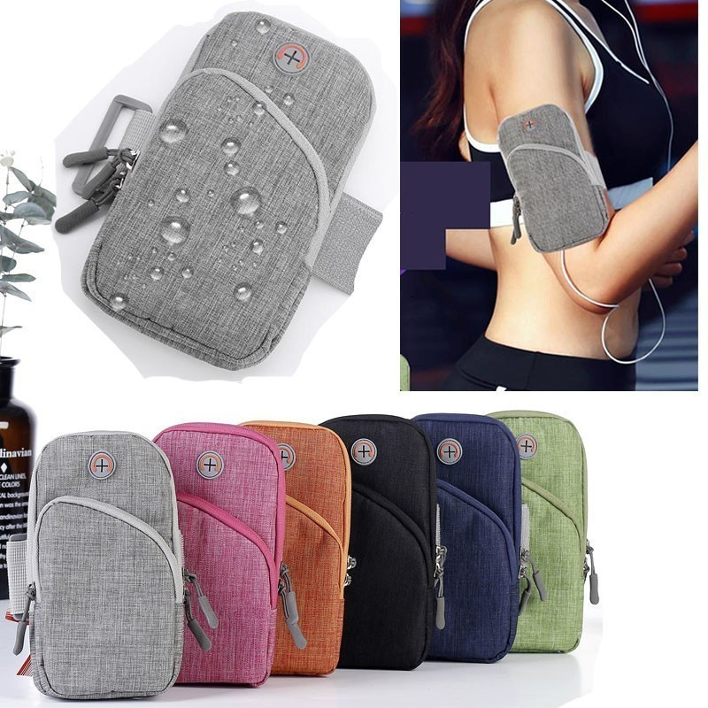 """Sports Running Armband Bag Case Cover Running armband Universal Waterproof Sport cell phone Holder Outdoor Sport Arm pouch 6.5"""""""
