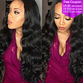 Brazilian Virgin Hair Brazilian Body Wave 4bundles 8A Virgin Brazilian body wave Human Hair Weaves Cheap brazilian wavy hair 1B#