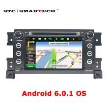 SMARTECH 2 din Android OS 6.0 Автомобильный GPS навигации dvd-плеер для Gread Suzki Vitara стерео Радио Поддержка 3 Г Wi-Fi OBD DVR DAB +