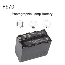 7800mAh NP F970 Photographic Lamp Battery for NP-F970 F960 LED Video Light For Monitor LEDP260 YN600L II Luxpad23