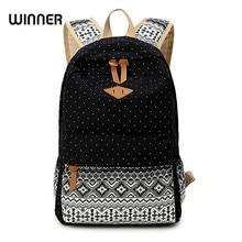 Canvas Printing Backpack font b Women b font School Backpacks font b Bag b font for