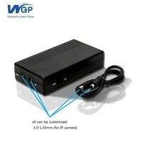 Ingresso DC uscita DC portatile ups di alimentazione 12 volt ups batteria di backup 12 V 2A per cctv DVR NVR fotocamera
