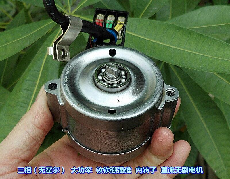 BYD 12 24V strong magnetic torque, three phase brushless motor inner rotor, DC brushless motor