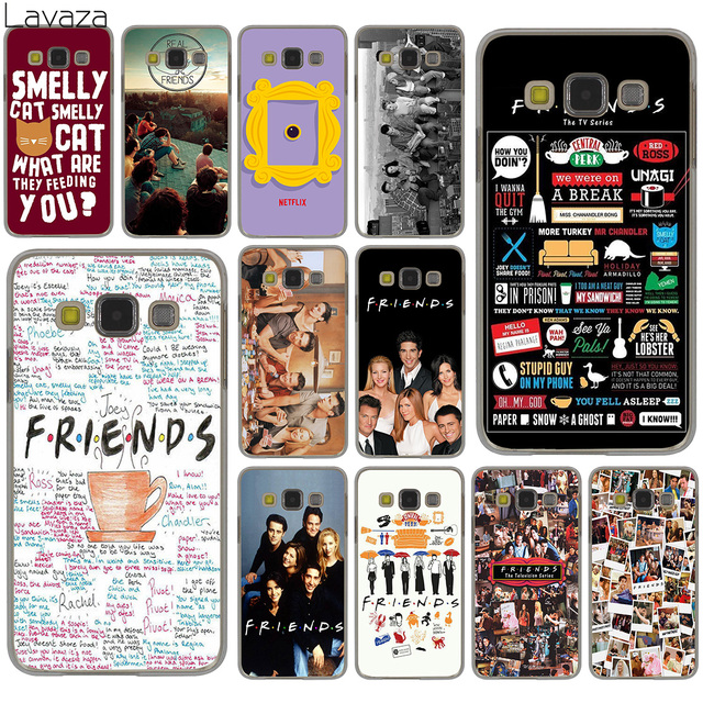 big sale 28806 53c20 US $2.03 10% OFF|Lavaza Friends FUNNY TV show poster Hard Case for Samsung  Galaxy S9 S8 Plus S3 S4 S5 S6 S7 Edge S9 Plus Phone Cover-in Half-wrapped  ...