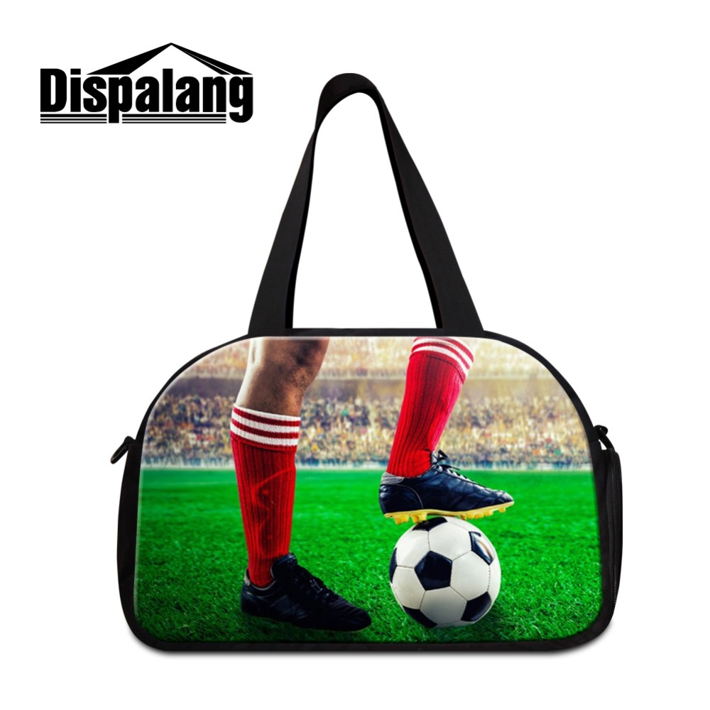 Dispalang World Lager Cup Latest Sporty Bags for Men Lightweight Travel Totes for Teens and Boy Canvas Duffle Bags for Guy