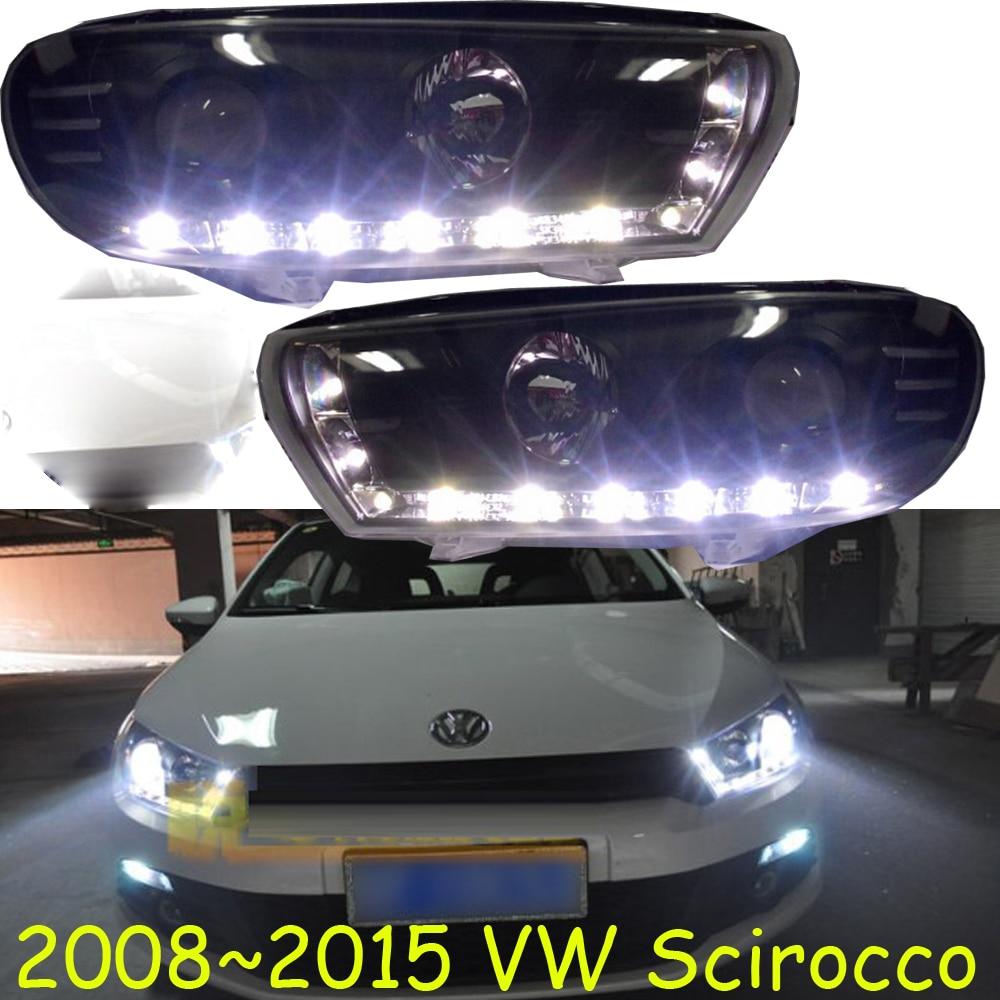 HID,2008~2015,Car Styling for Scirocco Headlight,sharan,Golf6,routan,saveiro,polo,passat,magotan,Scirocco head lamp