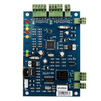 Generic TCP IP Access Controller Panel Network Entry Single Access Control Board Controller Panel For 1