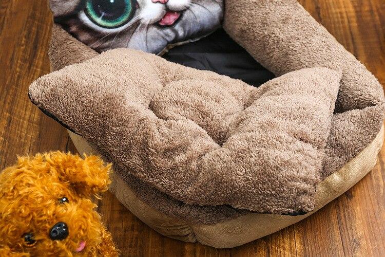 Kisállat kutya ágy ház párna kiságy közepes kutyák macska - Pet termékek - Fénykép 5