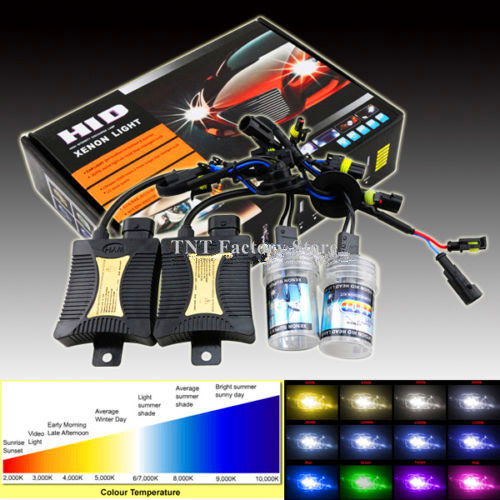 2x H1 H7 H6W Front High//Low//Side Light Bulbs 55w Tint Xenon HID Upgrade Kit