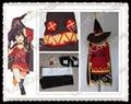 Konosuba Megumin Cosplay traje hecho a medida