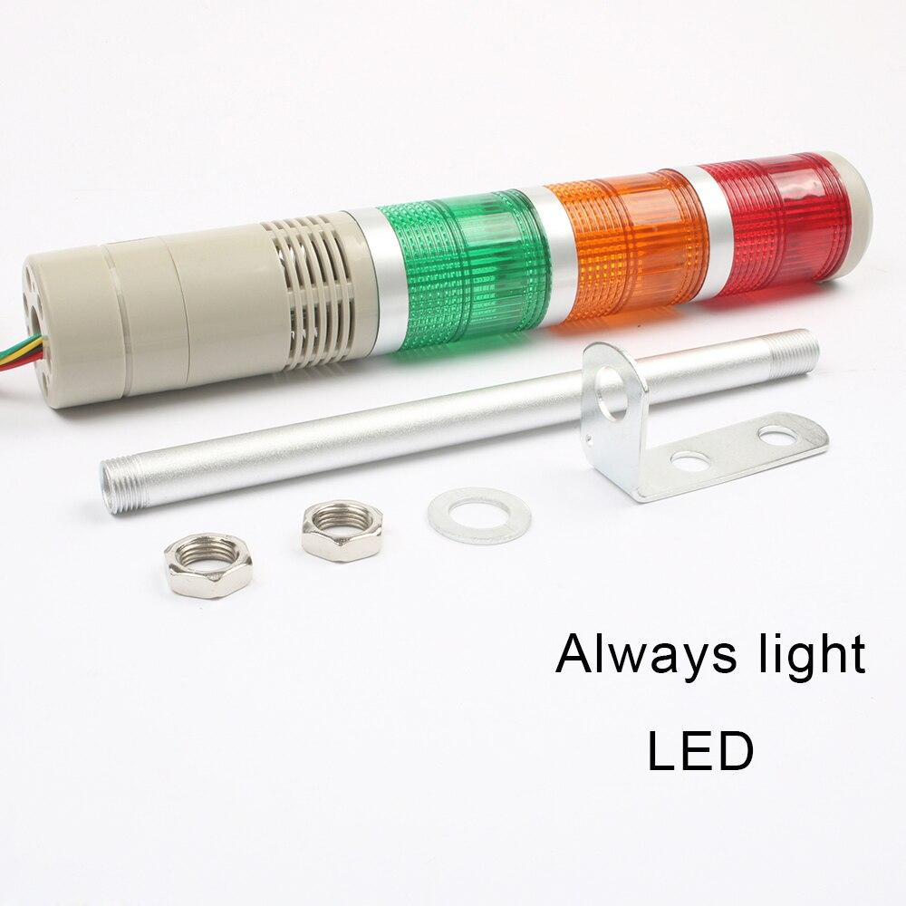 Luz de señal LED rojo 24v AC//DC