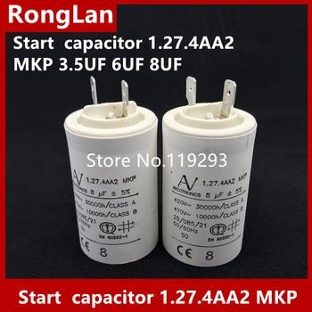 [BELLA] [New Original] Arcotronics 1.27.4AA2 3.5uf 5uf 6uf 8uf 5% dedicated inverter start capacitor inverter operation panel jvop 180 new original