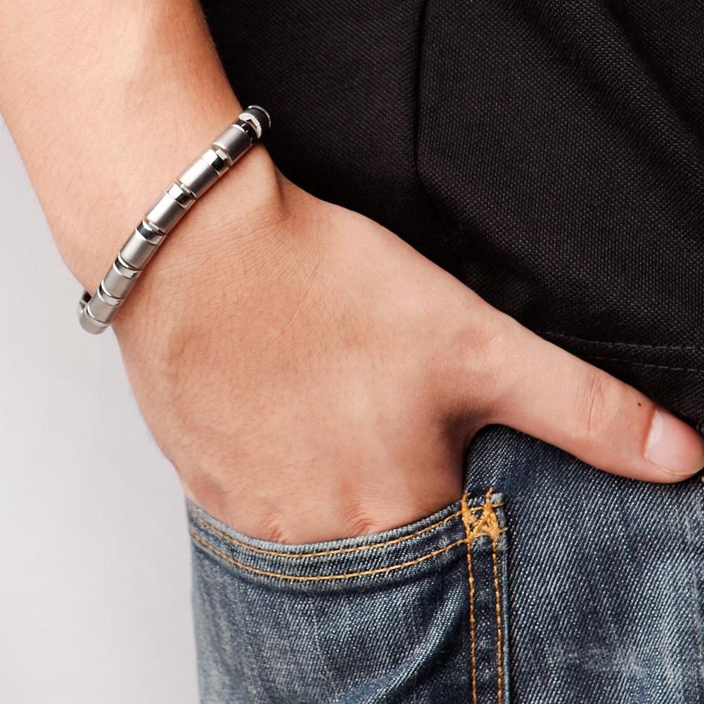 Power Ionics Titanium 99.999% Germanium Beads Bracelet Balance Body